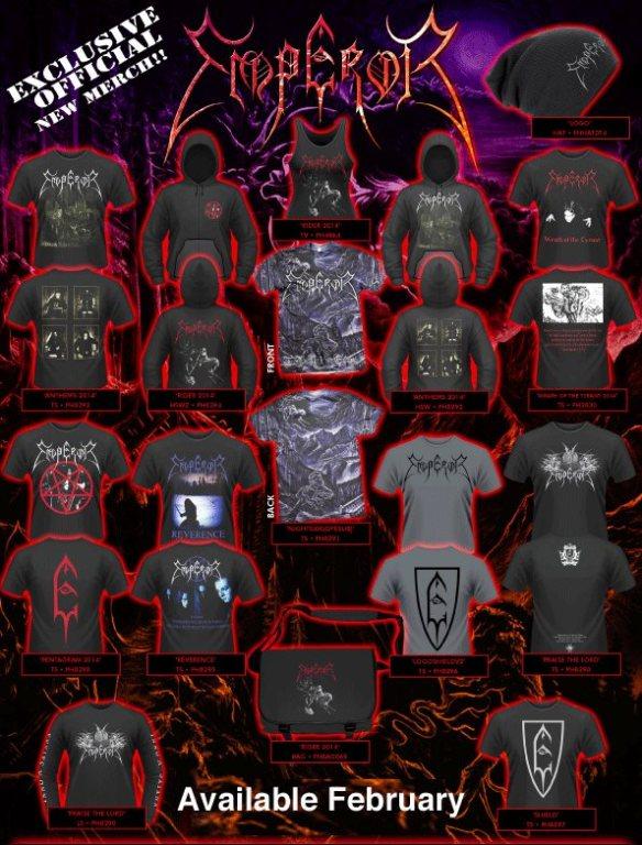 Emperor Tshirts & merch merchandise