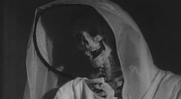 the screaming skull skeleton